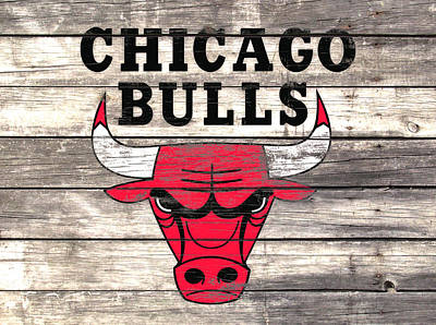The Chicago Bulls W9 Poster by Brian Reaves