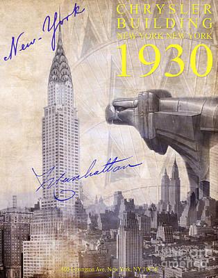 The Chrysler Building Poster by Jon Neidert