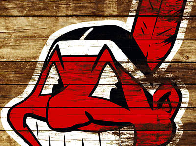 The Cleveland Indians 3f    Poster by Brian Reaves