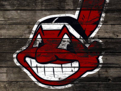 The Cleveland Indians C2 Poster by Brian Reaves