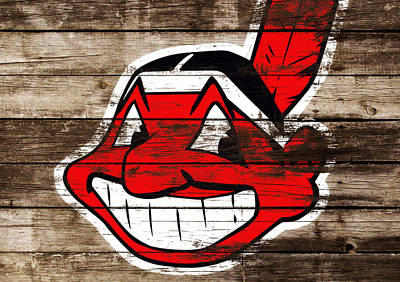 The Cleveland Indians C3 Poster by Brian Reaves