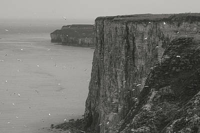 The Cliffs Poster by Ian Byrom