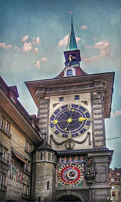 The Clock Of Clocks Poster by Hanny Heim