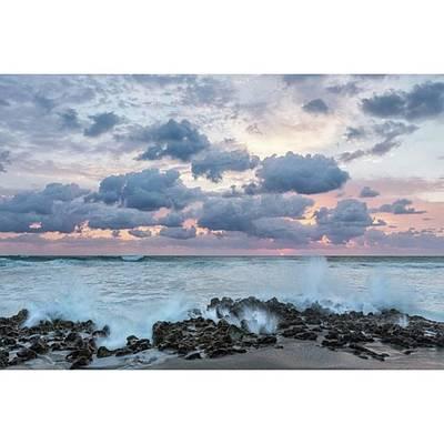 The Coastline In Jupiter, Florida Poster