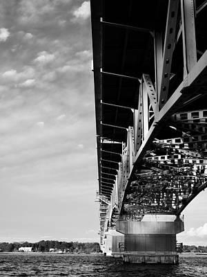 The Coleman Bridge Poster by Rachel Morrison