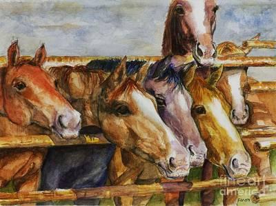 The Colorado Horse Rescue Poster by Frances Marino