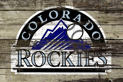 The Colorado Rockies 1a        Poster by Brian Reaves