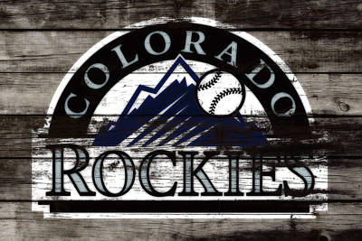The Colorado Rockies 1b        Poster by Brian Reaves