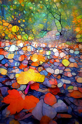 The Colours Of The Forest Floor Poster by Tara Turner