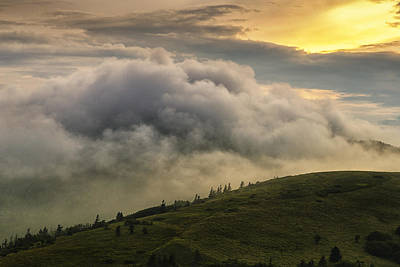 Summer Storm - Roan Mountain Poster