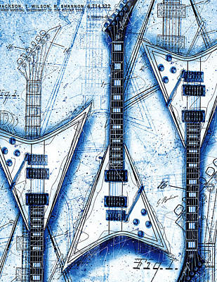 The Concorde Blueprint Poster