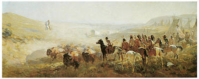 The Conquest Of The Prairie Poster