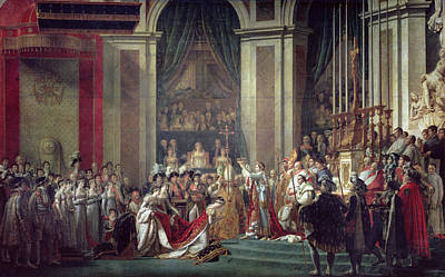 The Consecration Of The Emperor Napoleon Poster by Louis David