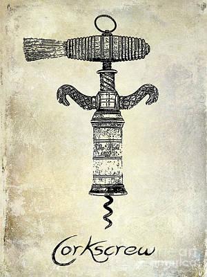The Corkscrew Poster by Jon Neidert
