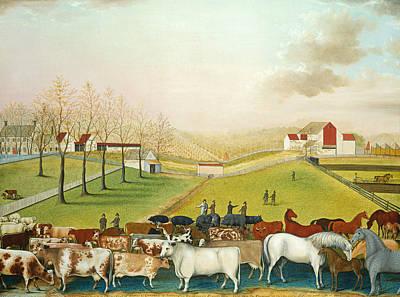 The Cornell Farm Poster