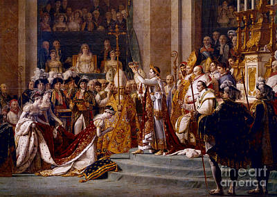 The Coronation Of Napoleon Poster by Pierre Belzeaux/Rapho Agence