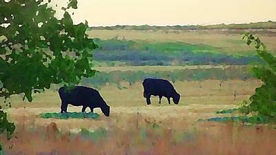 The Cows Next Door Poster