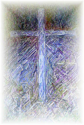 The Cross Poster by Karen Francis