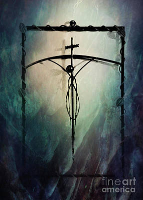 The Crucifix Poster by Al Bourassa