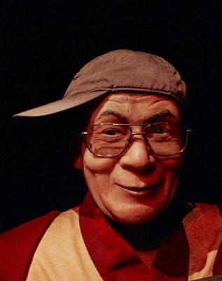 The Dali Lama Wearing My Hat Poster