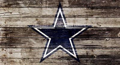 The Dallas Cowboys 3w Poster