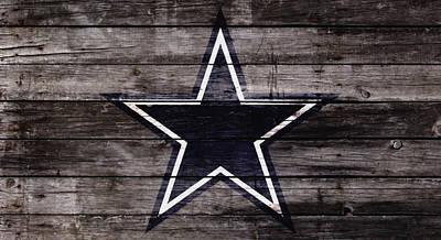 The Dallas Cowboys 4w Poster