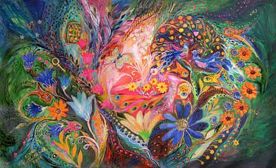 The Dance Of Flowers Poster by Elena Kotliarker