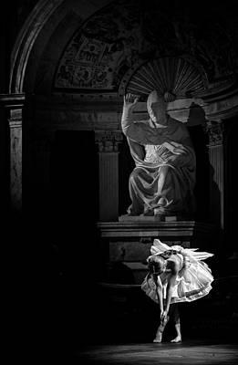 The Dancer Poster by Livio Ferrari