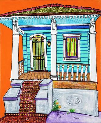 The Dandelion's House Poster by Aleta Kim Lawton