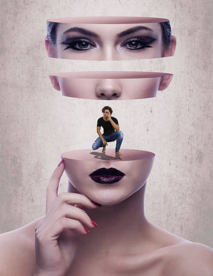 The Dating Scene Poster by Solomon Barroa