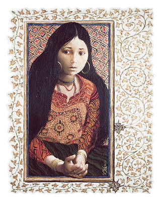 The Daughter Of Jairus - Lgdoj Poster by Louis Glanzman