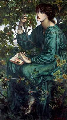 The Day Dream Poster by Dante Gabriel Rossetti
