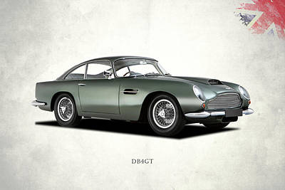 """ASTON MARTIN DB4 1958 NEW GIANT LARGE ART PRINT POSTER PICTURE WALL 33.1/""""x23.4/"""""""