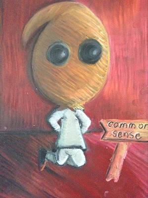 The Death Of Common Sense Poster by Regina Jeffers