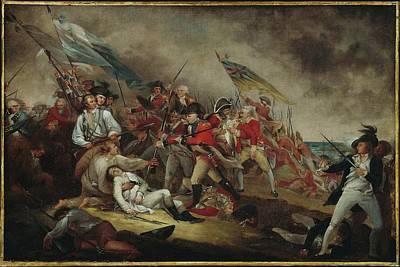 The Death Of General Warren Poster