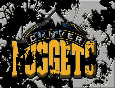 The Denver Nuggets 1a Poster