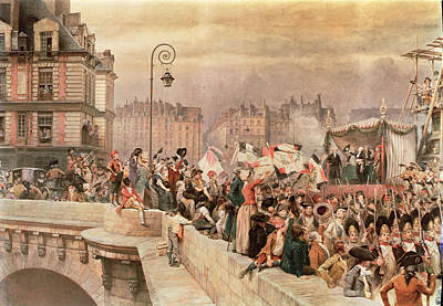 The Departure Of The Volunteers 1792 Poster by Jean Baptiste Edouard Detaille