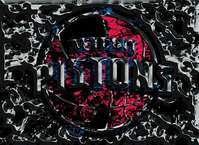The Detroit Pistons Poster