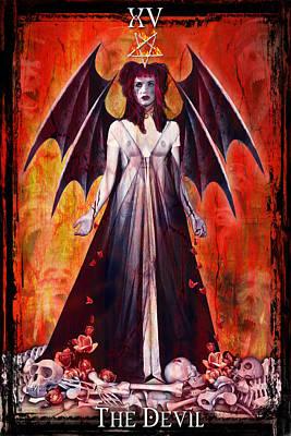 The Devil Poster by Tammy Wetzel