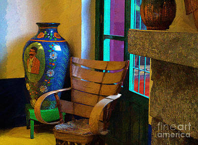The Dining Room Corner In Frida Kahlo's House Poster
