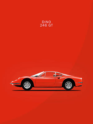 The Dino Poster by Mark Rogan