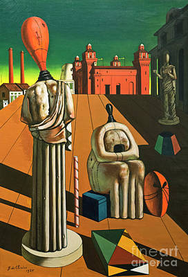 The Disquieting Muses By Giorgio De Chirico Poster by Roberto Morgenthaler