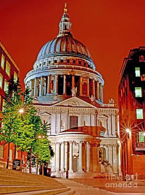 The Dome Of St Pauls Poster by Chris Smith