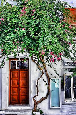 The Door- Mykonos Poster by Tom Prendergast
