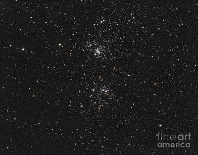 The Double Cluster Poster