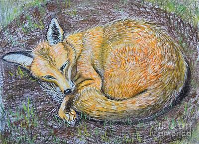 The Fox Poster by Caroline Street