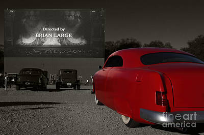 The Drive-in Poster by Dennis Hedberg