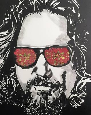 The Dude Poster by Luke Glasscock