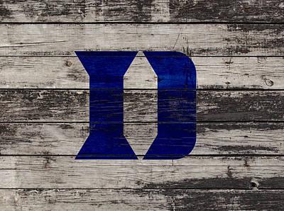 The Duke Blue Devils 3b  Poster