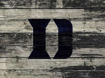 The Duke Blue Devils 3c  Poster by Brian Reaves